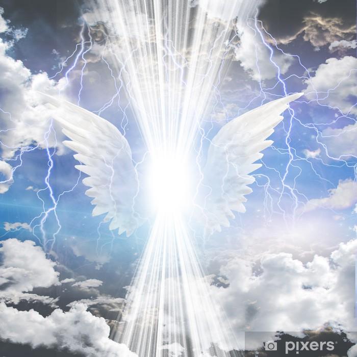 Pixerstick-klistremerke Angelic blir skjult - Christianity