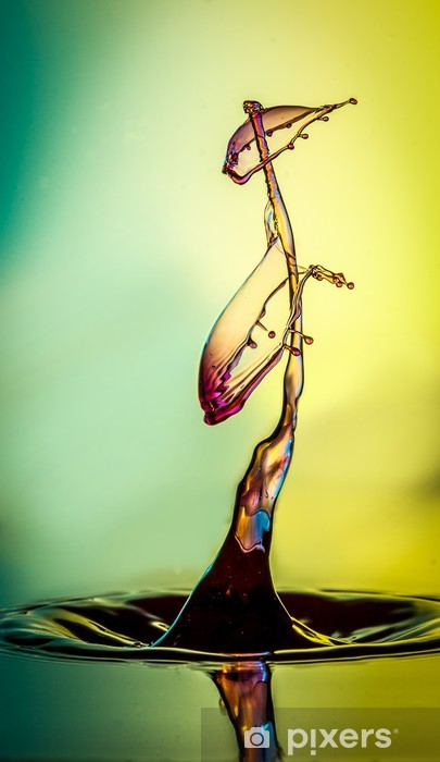 Naklejka Pixerstick Kropla wody - Abstrakcja