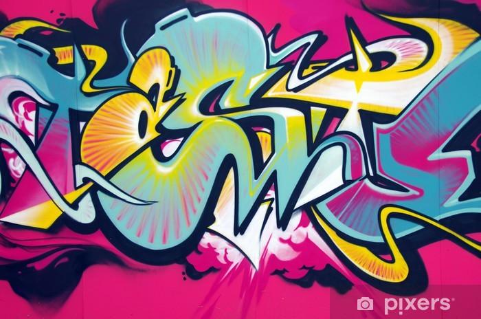 Naklejka Pixerstick Graffiti - Tematy