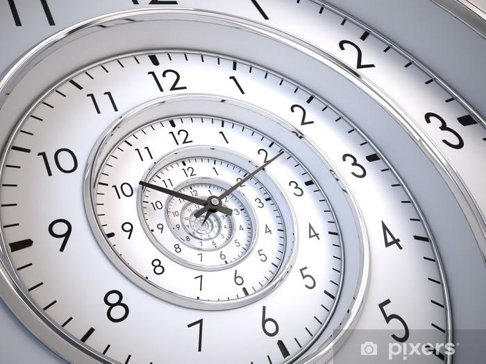 Fototapeta winylowa Time Spiral nieskończoność - Zegary