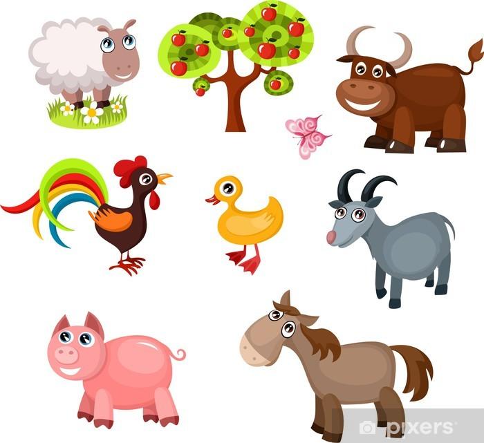 farm animals Sticker - Pixerstick