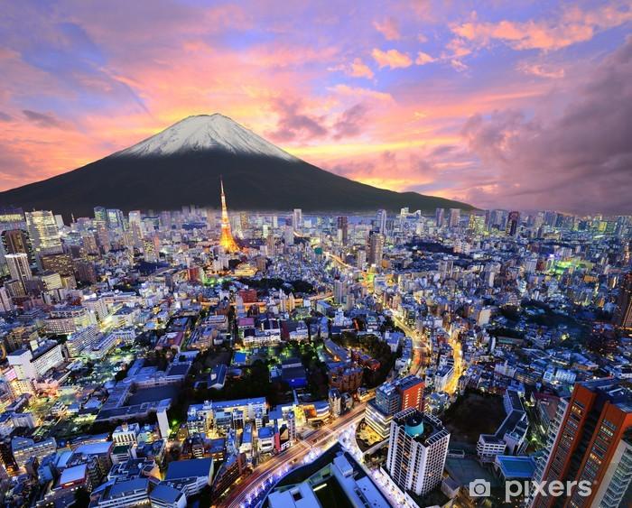 Fototapeta samoprzylepna Tokyo i Fuji - Azja