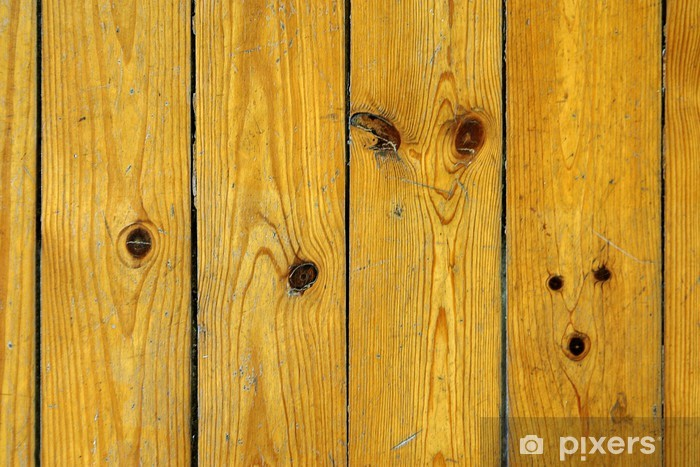 Oude Houten Vloeren : Fotobehang oude houten vloer u2022 pixers® we leven om te veranderen