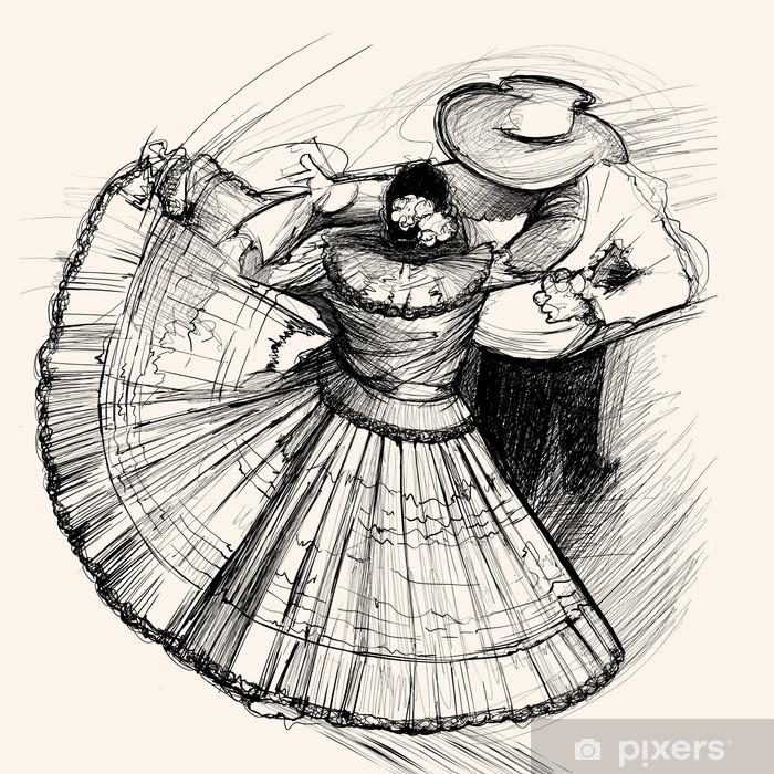 Fototapeta winylowa Latino Dance - Muzyka