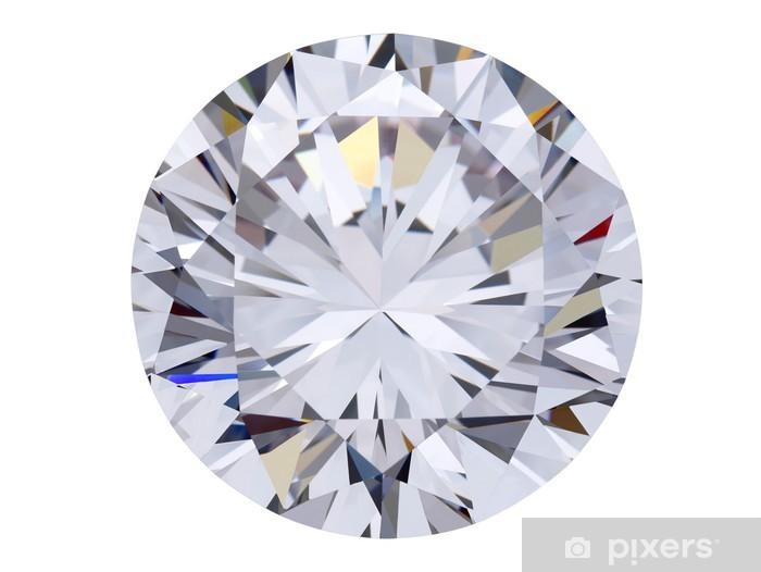 80520ce70abfc1 Fototapeta winylowa Diament widok z góry / z wycinek ścieżki - Sukces i  osiągnięcia