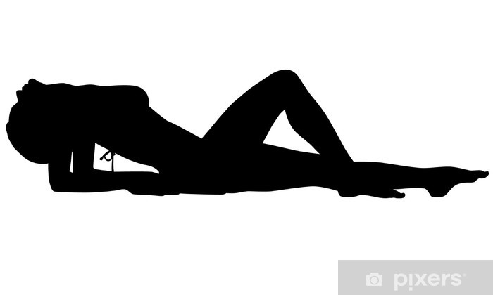 Sexy Woman Silhouette Wall Mural  Pixers  We Live To Change-2929