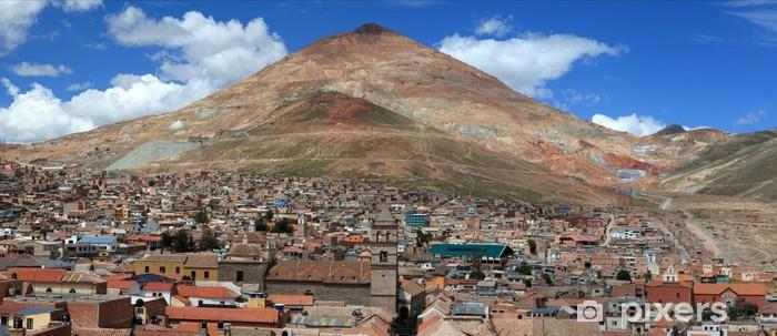 Naklejka Pixerstick Potosi w Boliwii - Ameryka