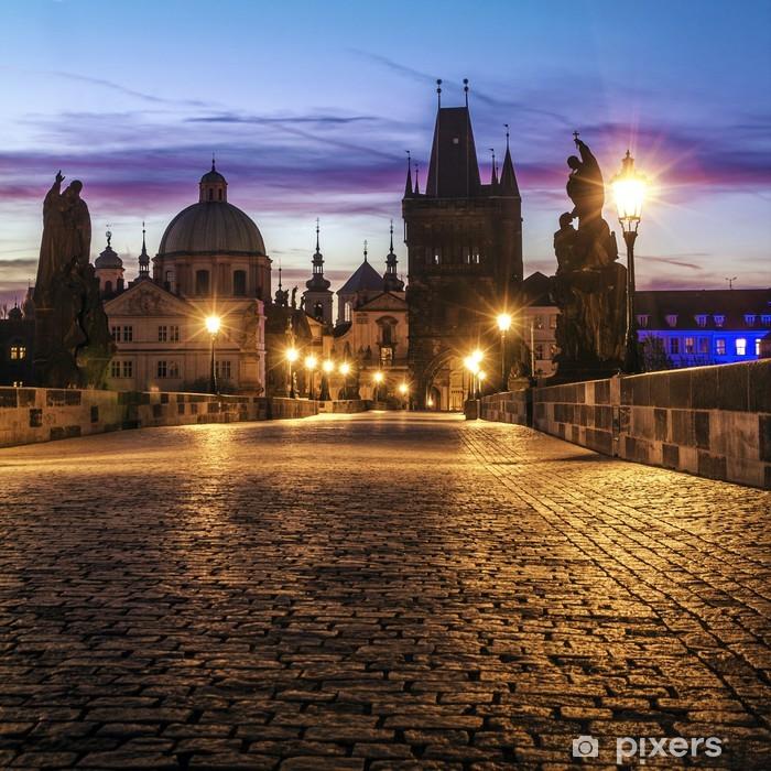 Fotomural Estándar Puente de Carlos en Praga - Praga