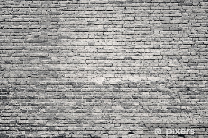 Fotomural Estándar Antiguo muro de ladrillo - Estilos