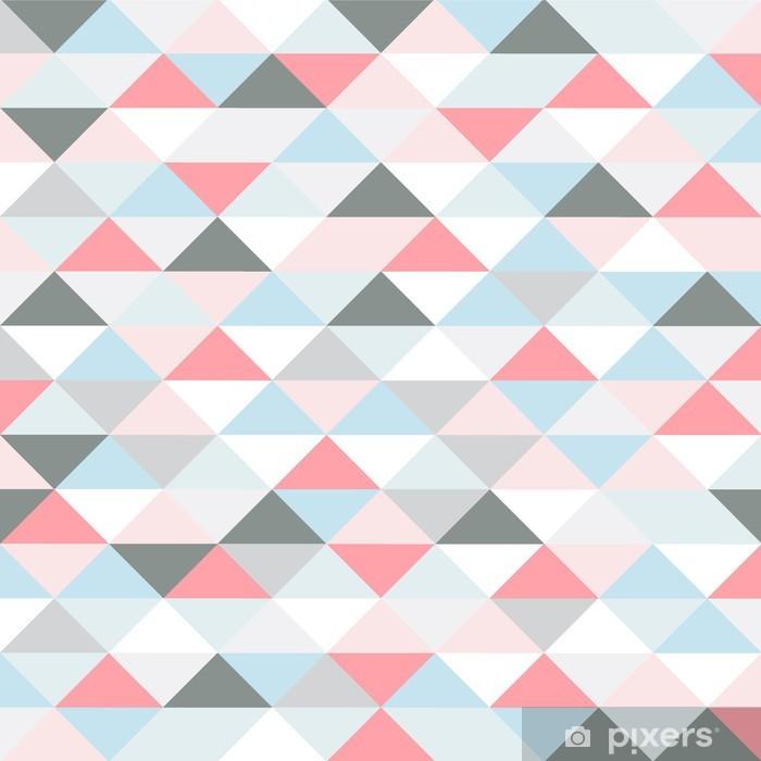 Carta da Parati in Vinile Retro modello di forme geometriche. - Temi