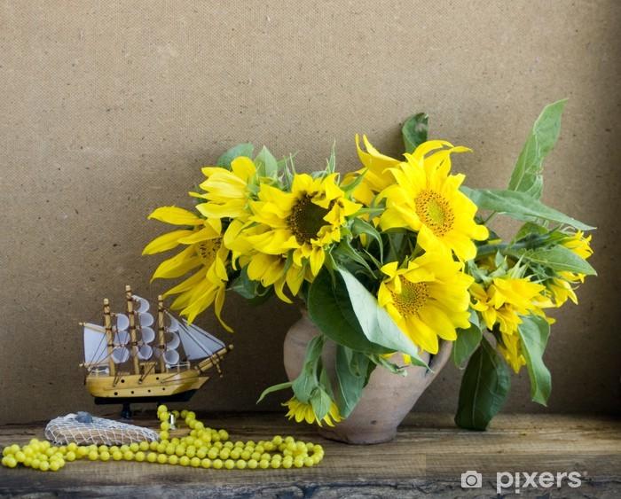 Naklejka Pixerstick Martwa natura - Kwiaty