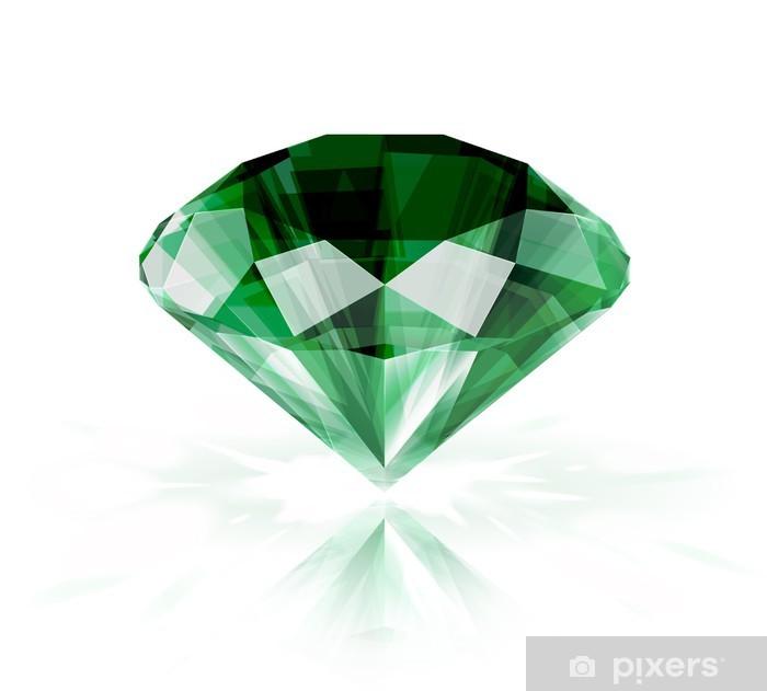 Plakat Emerald na białym - EPS10 - Sprzedaż