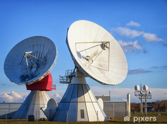 Vinylová fototapeta Satelitní parabolu - radioteleskop - Vinylová fototapeta