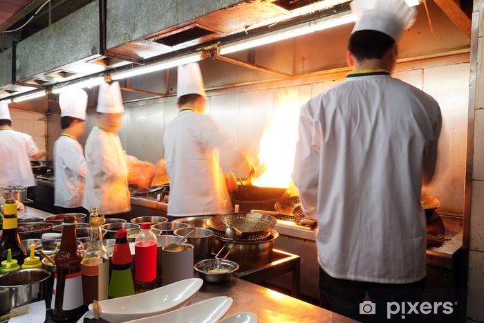 Papier peint vinyle Chinese Chef - Métiers
