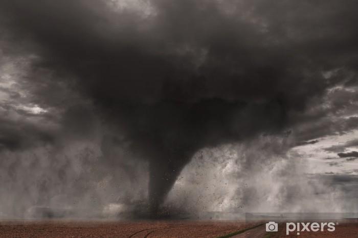 Pixerstick Sticker Tornado - Natuurrampen