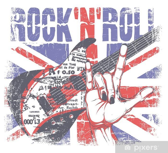 Rock'n roll Framed Poster - Rock