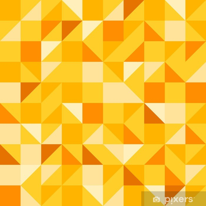 Fototapeta winylowa Żółty bez szwu - Abstrakcja