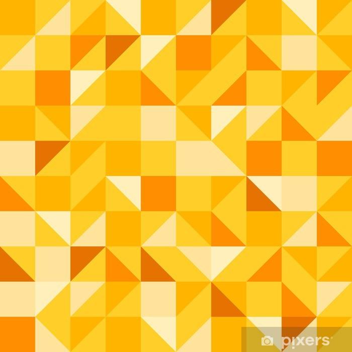 Naklejka Pixerstick Żółty bez szwu - Abstrakcja