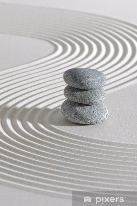 Naklejka Pixerstick Japonia ogród zen - Tła