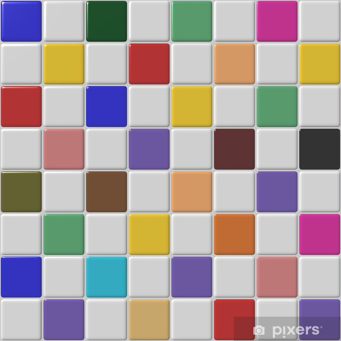 Sticker Pixerstick Mosaic 5,57 - Concepts