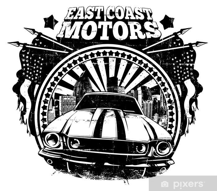 East Coast Motors >> East Coast Motors Sticker Pixerstick