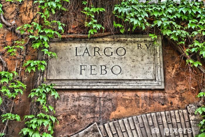 Vinyl Fotobehang Rome, Italië. - Europese steden