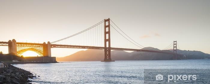 Golden Gate Bridge, San Francisco, California Vinyl Wall Mural - Themes