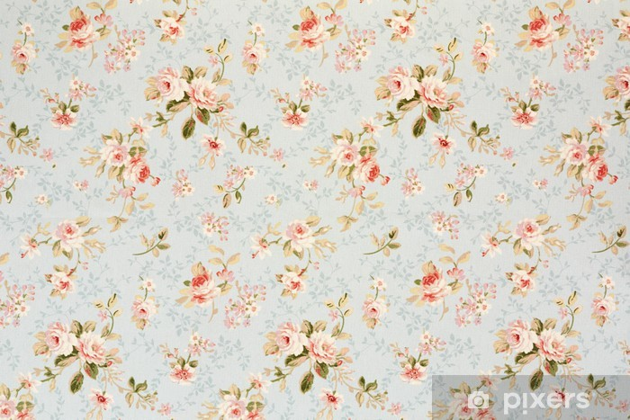 Rose Floral Tapestry Romantic Texture Background Wall