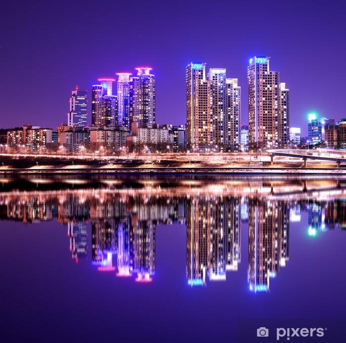 Fototapeta winylowa Gangnam Rejonowy w Seulu, Korea Południowa - Tematy