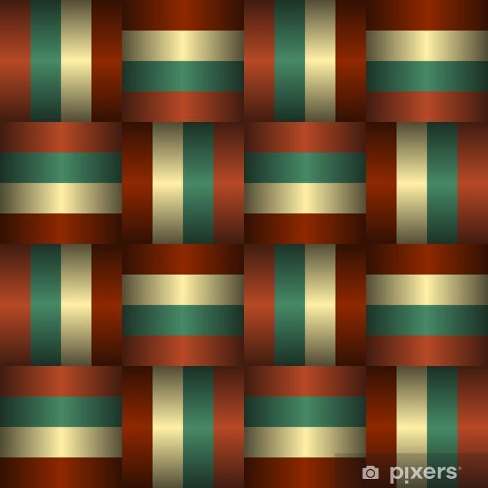 Nálepka Pixerstick Prokládané Stuhy bezešvé vzor - Pozadí