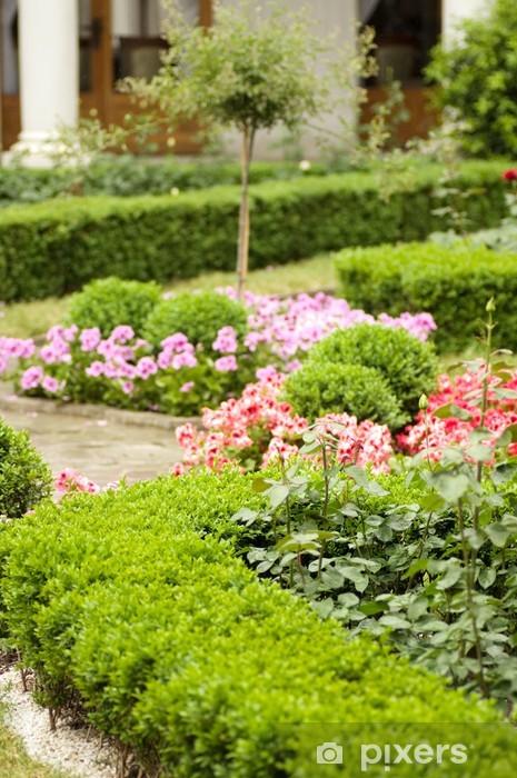 Çıkartması Pixerstick Yolu bahçeye - Mevsimler