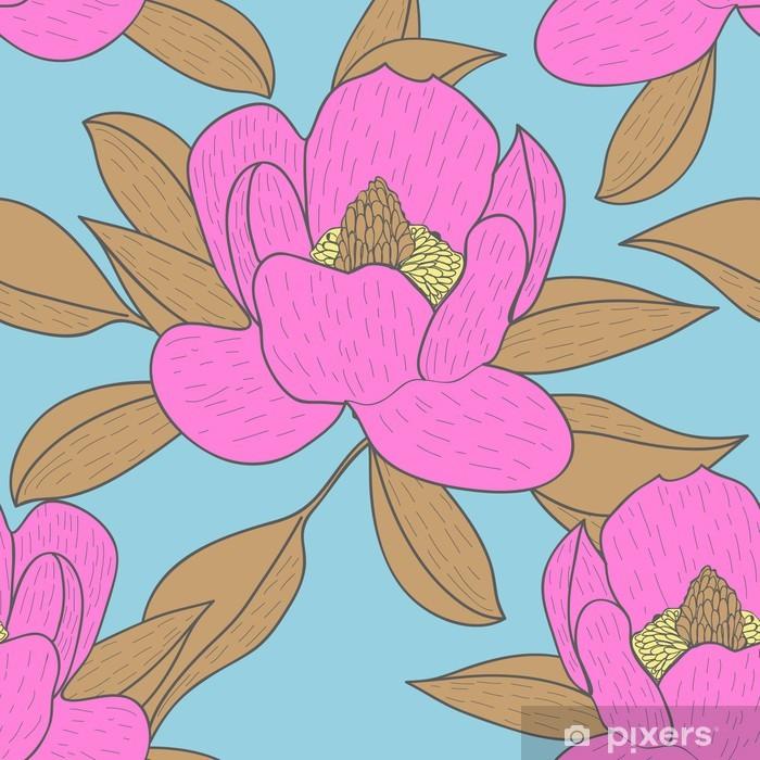 Naklejka Pixerstick Kwiatowy tekstury - Tematy