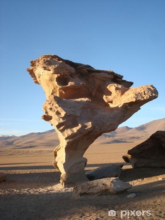 Nálepka Pixerstick Arbre de Pierre sculpté par l'eroze éolienne. - Příroda a divočina