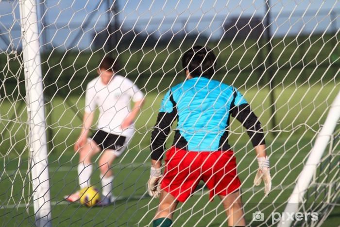 Vinylová fototapeta Fotbal (fotbal) brankář - Vinylová fototapeta