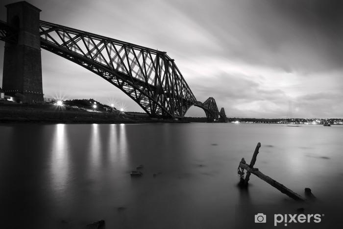 Vinilo Pixerstick El Forth Rail Bridge cruce entre Fife y Edimburgo, SCOTL - Temas