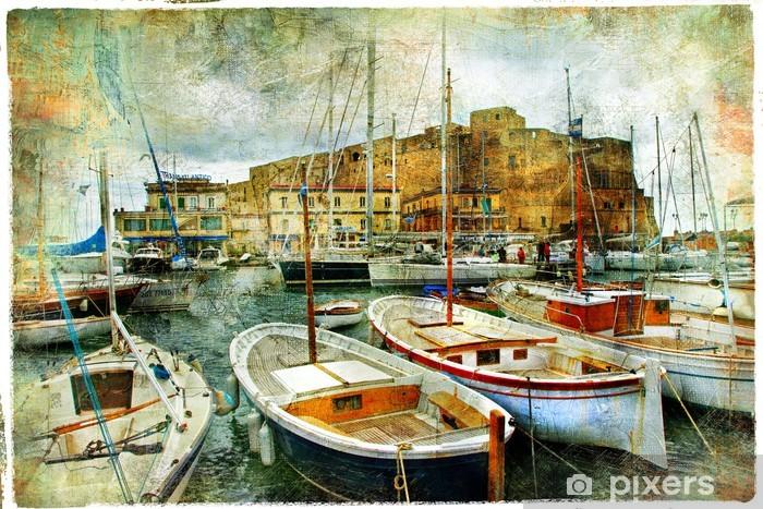 Fototapeta winylowa Neapol, Włochy, artystyczny obraz - Zabytki