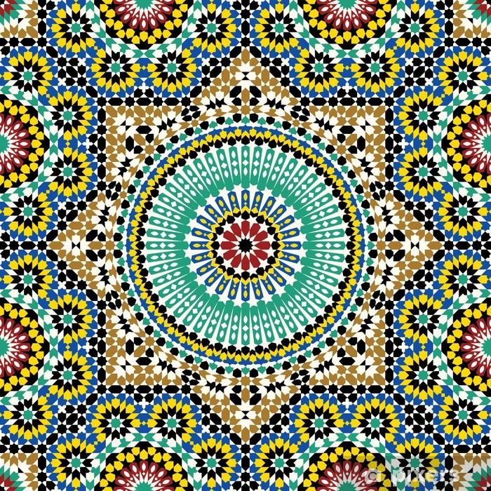 Vinilo para Nevera Akram Marruecos Patrón Cinco - Marruecos