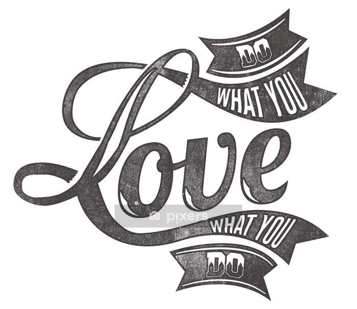 Naklejka na ścianę Miłość - Abstrakcja