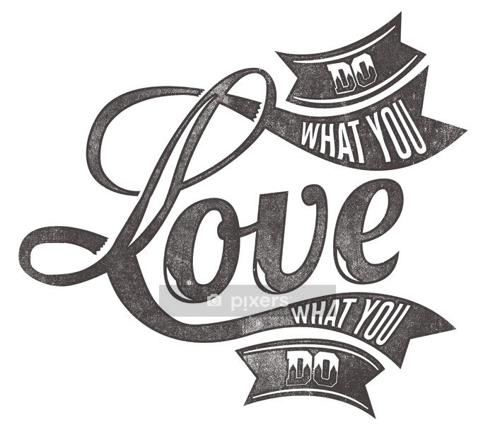 Love Wall Decal - Abstract