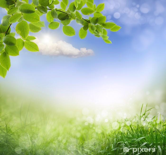 Fototapete Abstrakt Frühling Hintergrund • Pixers®
