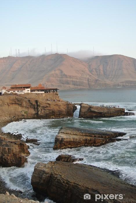 Vinylová fototapeta Océan Pacifique à Lima - Vinylová fototapeta