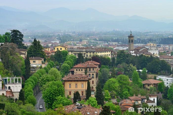 Fototapeta winylowa Widok do miasta Bergamo, Włochy - Europa