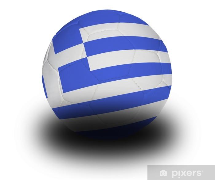 Vinylová fototapeta Greek Football - Vinylová fototapeta