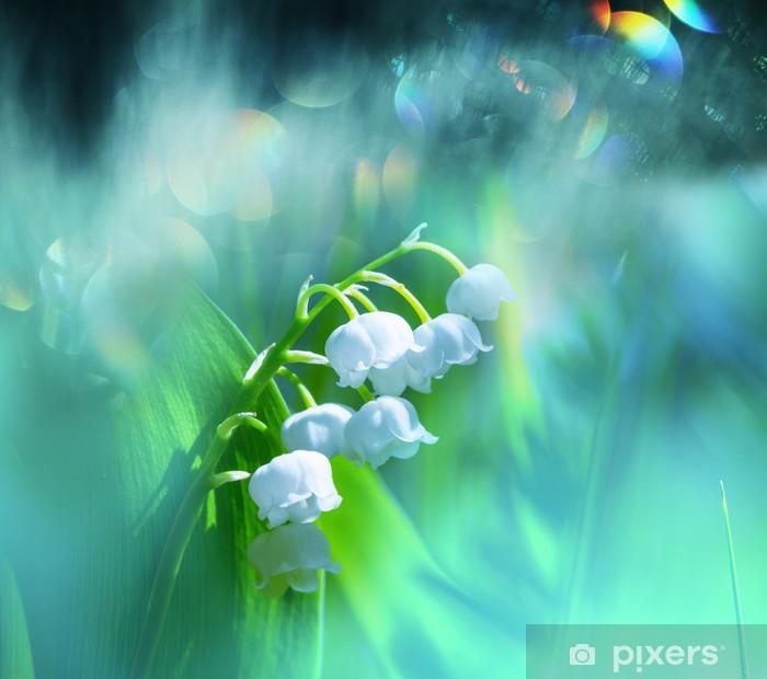 Naklejka Pixerstick Lilia doliny - Kwiaty