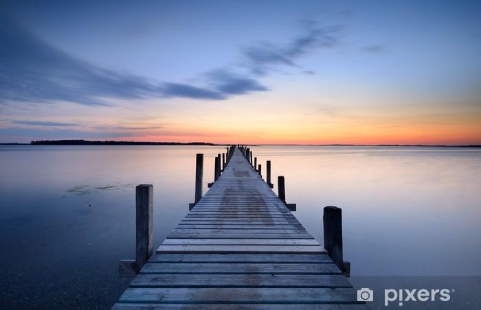 Abwaschbare Fototapete Pier -