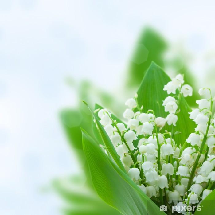 Fototapeta winylowa Lilly doliny kwiatów - Szczęście