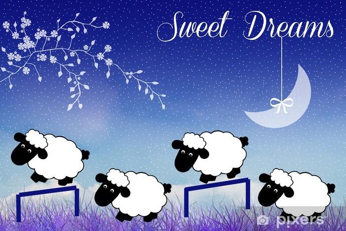 Fotobehang Sweet dreams • Pixers® - We leven om te veranderen