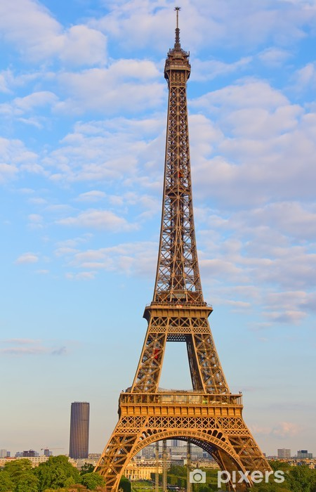 Eiffel torni Vinyyli valokuvatapetti - Euroopan Kaupunkeja