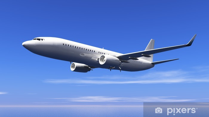 Fototapeta winylowa Samolot - Transport powietrzny