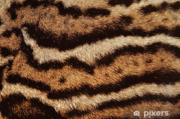 Nálepka Pixerstick Ocelot kožešiny pruhy - Struktury